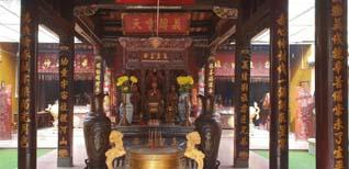 Ghé thăm chùa Ông Phước Minh Cung Trà Vinh