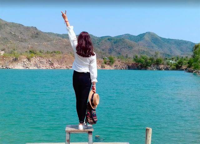 Hồ đá Xanh cách Vũng Tàu bao xa