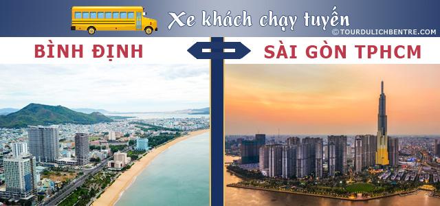 Bình Định Sài Gòn - Xe khách Bình Định đi Sài Gòn