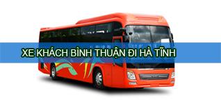 Bình Thuận Hà Tĩnh - Xe khách Bình Thuận đi Hà Tĩnh
