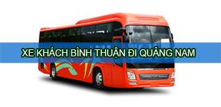 Bình Thuận Quảng Nam - Xe khách Bình Thuận đi Quảng Nam
