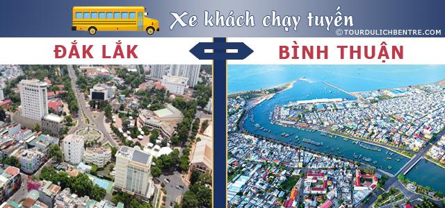 Đắk Lắk  Bình Thuận - Xe khách Đắk Lắk đi Bình Thuận