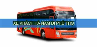 Hà Nam Phú Thọ - Vé xe khách Hà Nam đi Phú Thọ