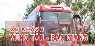Vũng Tàu Bắc Giang - Đặt vé xe khách Vũng Tàu đi Bắc Giang