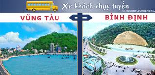 Vũng Tàu Bình Định - Đặt vé Xe khách Vũng Tàu đi Bình Định