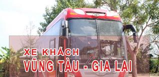 Vũng Tàu Gia Lai - Đặt vé xe khách Vũng Tàu đi Gia Lai