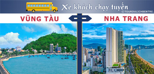 Vũng Tàu Nha Trang - Đặt vé Xe khách Vũng Tàu đi Nha Trang
