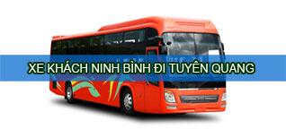 Ninh Bình Tuyên Quang - Vé xe khách Ninh Bình đi Tuyên Quang