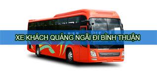 Quảng Ngãi Bình Thuận - Xe khách Quảng Ngãi đi Bình Thuận