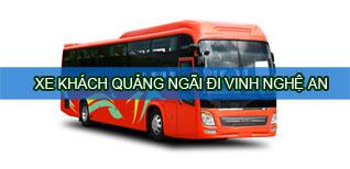 Quảng Ngãi Nghệ An - Xe khách Quảng Ngãi đi Nghệ An